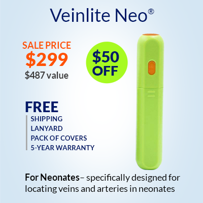 Buy Veinlite Neo for neonates – Holiday Sale