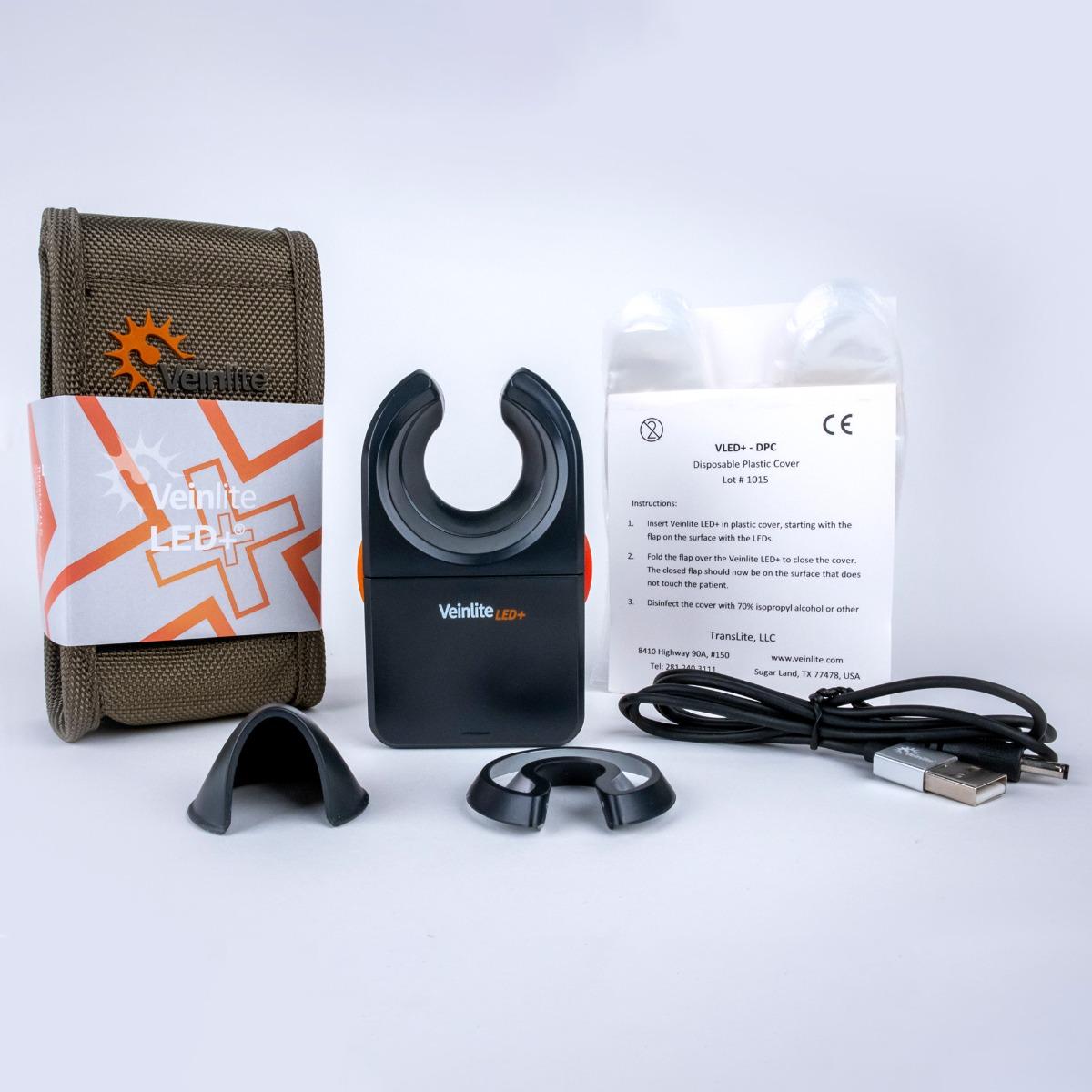 Contents of Veinlite LED+ Kit
