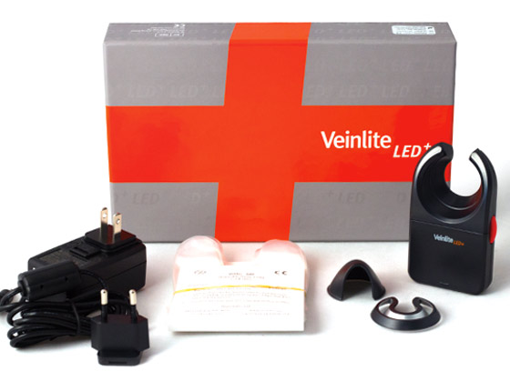 In the Box: Veinlite LED+<sup>®</sup>